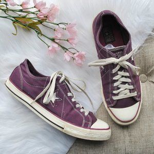 Converse One Star Purple Women's Sneakers